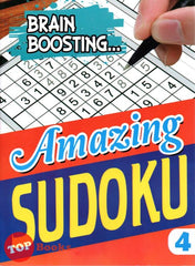 [Mind to Mind] Brain Boosting  Amazing Sudoku Book 4  - 2020