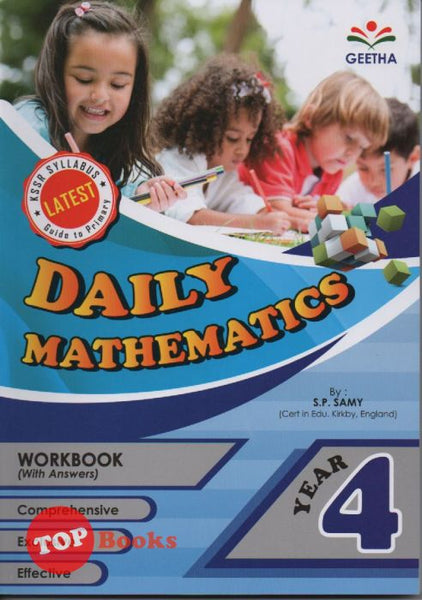 [Geetha] Daily Mathematics Year 4