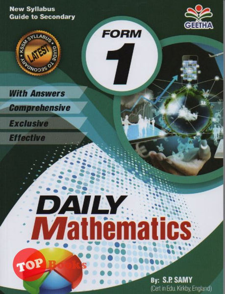 [Geetha] Daily Mathematics Form 1