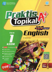 [Pan Asia] Praktis Topikal A+ English Form 1 KSSM (2021)