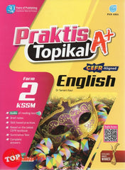 [Pan Asia] Praktis Topikal A+ English KSSM From 2 (2021)
