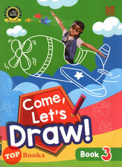 [Pelangi Kids] Come, Let's Draw! Book 3