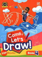 [Pelangi Kids] Come, Let's Draw! Book 4