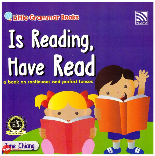 Little Grammar Books - Is Reading, Have Read (a book on continuous and perfect tenses)