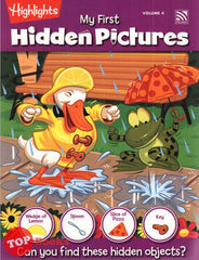 [Pelangi Kids] Highlights My First Hidden Pictures Volume 4