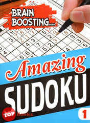 [Mind to Mind] Brain Boosting   Amazing Sudoku Book 1  - 2020