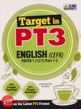 [Ilmu Bakti] Target In PT3 English (CEFR) Paper 1 Part 1-5 (2021)