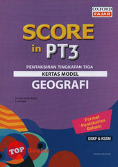 Score in PT3 Kertas Model Geografi -2019