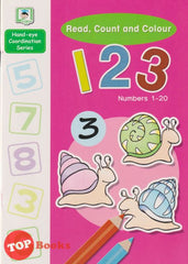 [Daya Kids] Read,Count And Colour 123 Numbers 1-20 (2021)