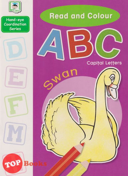 [Daya Kids] Read And Colour ABC Capital Letters (2021)