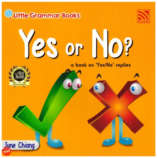 Little Grammar Books - Yes or No? (a book on 'Yes/No' replies)