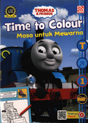 [Pelangi Kids] Thomas & Friends Time to Colour Masa Untuk Mewarna