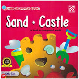 [Pelangi Kids] Little Grammar Books Sand + Castle (a book on compound words)