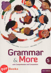 Grammar & More - with Comprehension and Composition - Book 5 (New Edition)