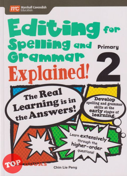 [Marshall Cavendish] Editing for Spelling and Grammar Explained Primary 2 (2020)