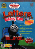 [Pelangi Kids] Thomas & Friends Letters Activity Time with Stickers