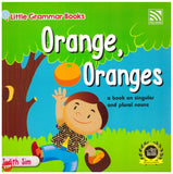 [Pelangi Kids] Little Grammar Books Orange, Oranges (a book on singular and plural nouns)
