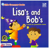 [Pelangi Kids] Little Grammar Books Lisa's and Bob's (a book on possessive nouns)