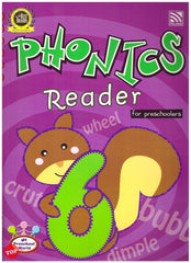 My Preschool World -Phonics - Reader 6 for preschoolers