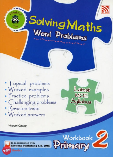 Solving Maths Word Problems Workbook Primary 2