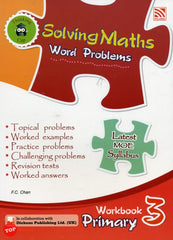 Solving Maths Word Problems Workbook Primary 3