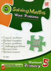[Pelang] Solving Maths Word Problems Workbook Primary 5