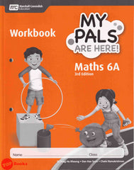 [Marshall Cavendish] My Pals Are Here! Workbook Maths 3rd Edition Primary 6A