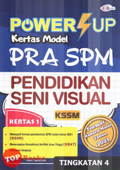[Cemerlang] Power Up Kertas Model Pra SPM Pendidikan Seni Visual Tingkatan 4 KSSM (2021)