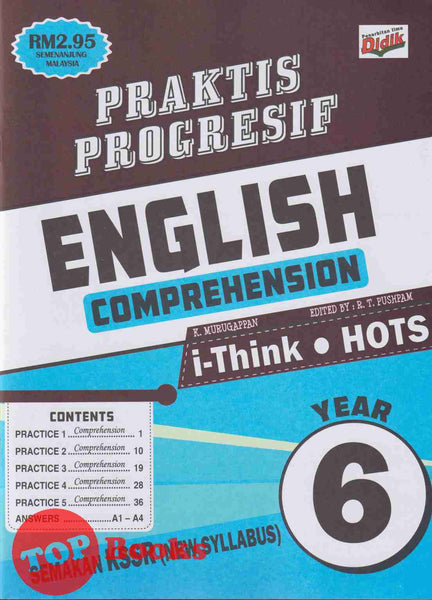 [Ilmu Didik] Praktis Progresif English Comprehension Year 6 KSSR Semakan (2021).
