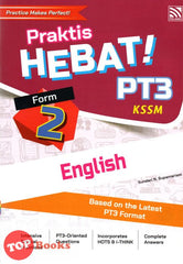 [Pelangi] Praktis Hebat! PT3 English KSSM Form 2 (2020)