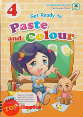 [Daya Kids] Get Ready to Paste and Colour Book 4 (2021)