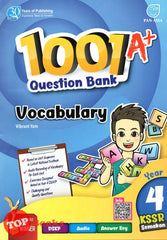 1001A+ Question Bank Vocabulary Year 4 KSSR Semakan 2020
