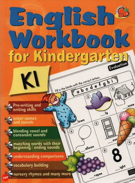 [Rhythm Kids] English Workbook for Kindergarten K1