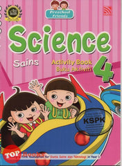 Preschool Friends - Sains Buku Aktiviti 4