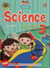 Preschool Friends - Sains Buku Aktiviti 3