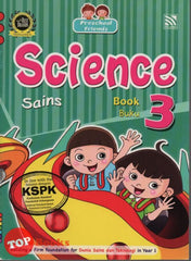 Preschool Friends - Sains Buku 3 (BI-BM)