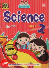 [Pelangi Kids] Preschool Friends Science Book 2 Sains Buku 2 (English & Malay)