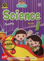 [Pelangi Kids] Preschool Friends Science Book 1 Sains Buku 1 (English & Malay)