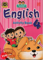 Preschool Friends - English Activity Book 4