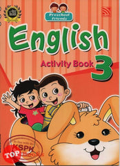 Preschool Friends - English Activity Book 3