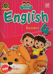 Preschool Friends - English Reader 4