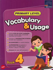Primary Level Vocabulary & Usage Book 4