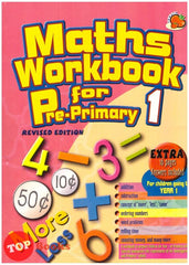 [Rhythm Kids] Maths Workbook For Pre-Primary 1