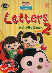 Preschool Friends - Letters Activity Book 2
