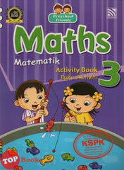 [Pelangi Kids] Preschool Friends Maths Activity Book 3 Matematik Buku Aktiviti 3 (English & Malay)
