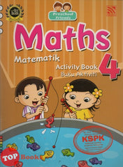 [Pelangi Kids] Preschool Friends Maths Activity Book 4 Matematik Buku Aktiviti 4 (English & Malay)