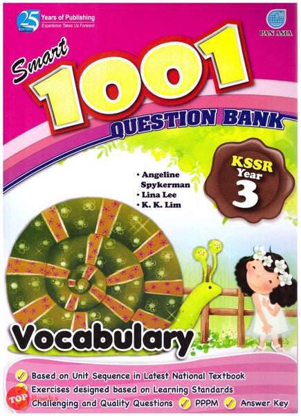 Smart 1001 Question Bank KSSR Vocabulary Year 3