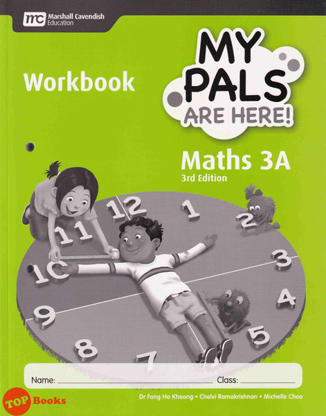[Marshall Cavendish] My Pals Are Here! Workbook Maths 3rd Edition Primary 3A