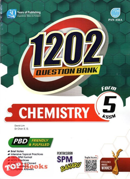 [Pan Asia] 1202 Question Bank Chemistry Form 5 KSSM (2021)