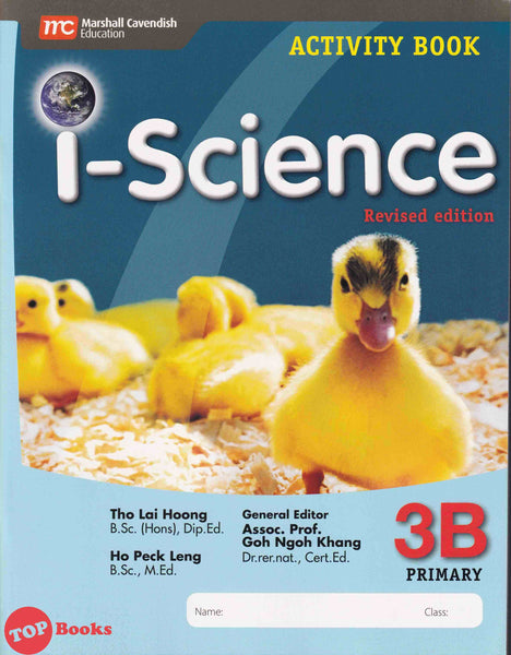 [Marshall Cavendish] I-Science Activity Book Primary 3B